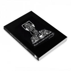 Libro blanco A5 Music negro