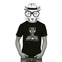 Camiseta Music negro
