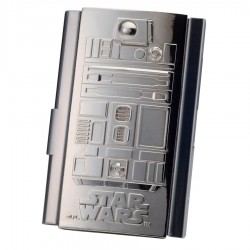 Estuche tarjetas visita R2-D2 Star Wars
