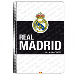 Bloc Real Madrid White A4 microperforado 80h