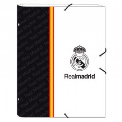 Carpeta clasificadora Real Madrid White A4 12 departamentos
