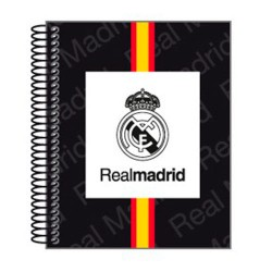 Bloc Real Madrid White A7 microperforado 100h