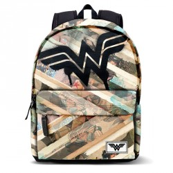 Mochila Wonder Woman DC Comics Collage 42cm