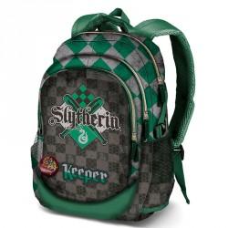 Mochila Harry Potter Quidditch Slytherin 44cm