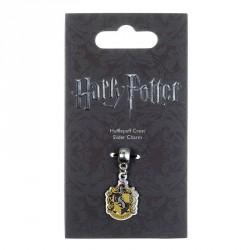 Colgante charm Hufflepuff Crest Harry Potter