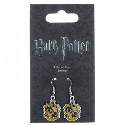 Pendientes Hufflepuff Crest Harry Potter