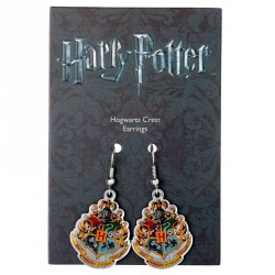 Pendientes Hogwarts Crest Harry Potter