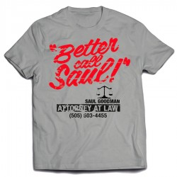 Camiseta Better Call Saul Telephone Number