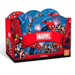 Pelota luminosa Spiderman Los Vengadores Marvel 10cm surtido