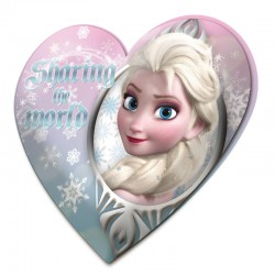 Cojin Frozen Disney forma corazon