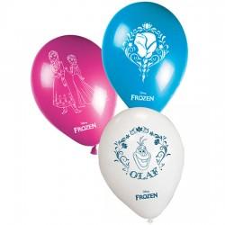 Pack 8 globos fiesta Frozen Disney surtido