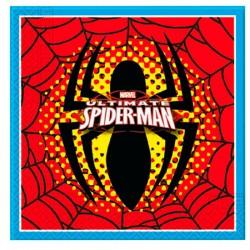 Pack 20 servilletas papel Spider-man Marvel Ultimate
