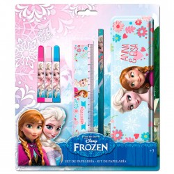 Set papeleria Frozen Disney 6pz