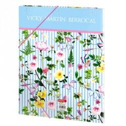 Carpeta Vicky Martin Berrocal Garden A4 solapas