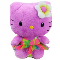 Peluche Hello Kitty TY Beanie Babies Purpura 15cm