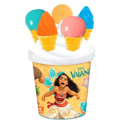 Cubo playa Vaiana Disney Ice Cream