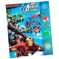Set actividades Vengadores Avengers Marvel Assemble