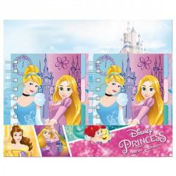 Libreta Princesas Disney A6