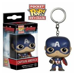 Llavero Pocket POP Vengadores Avengers Age of Ultron Capitan America