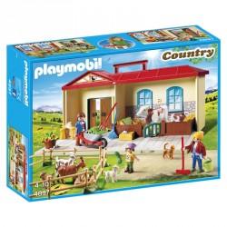 Granja Maletin Playmobil Country