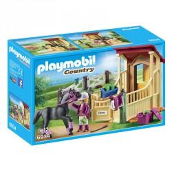 Caballo Arabe con Establo Playmobil Country