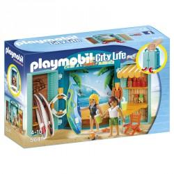 Cofre Tienda Surf Playmobil FamilyFun
