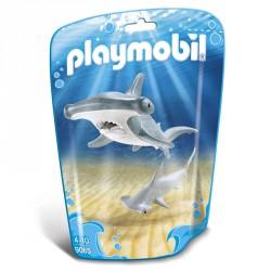 Tiburon Martillo y Bebe Playmobil FamilyFun
