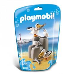 Familia de Pelicanos Playmobil FamilyFun