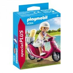 Mujer con Scooter Playmobil Special Plus