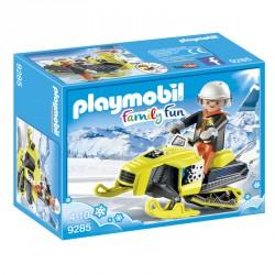 Moto de Nieve Playmobil FamilyFun