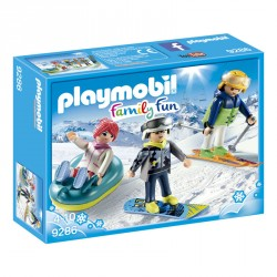 Deportes de Invierno Playmobil FamilyFun