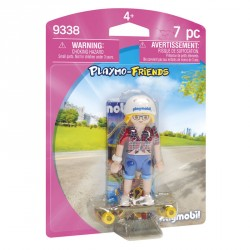 Adolescente con Skate Playmobil Playmo Friends
