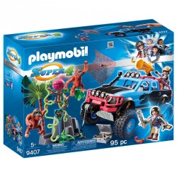 Monster Truck con Alex y Rock Brock Playmobil Super 4