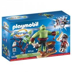 Ogro con Ruby Playmobil Super 4