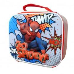 Bolsa portamerienda 3D EVA Spiderman Marvel termica