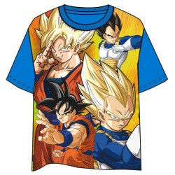 Camiseta Dragon Ball azul