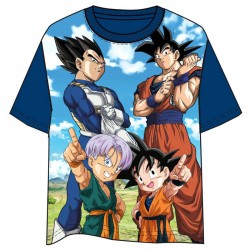Camiseta Dragon Ball azul marino