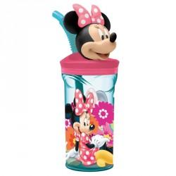 Vaso Minnie Disney figura 3D