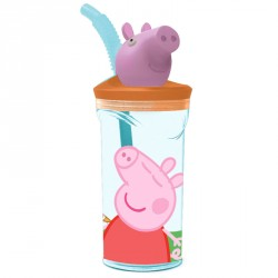 Vaso Peppa Pig figura 3D