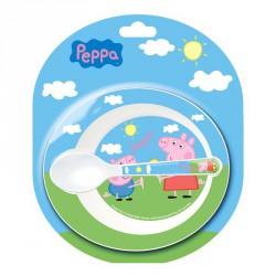 Set cuenco + cuchara Peppa Pig baby microondas