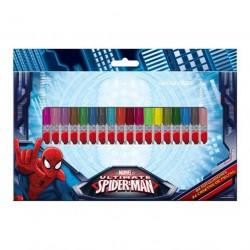 Blister 24 rotuladores Spiderman Marvel