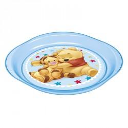Plato Winnie The Pooh Disney baby microondas azul