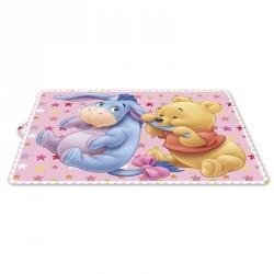 Mantel individual Winnie The Pooh Disney baby rosa