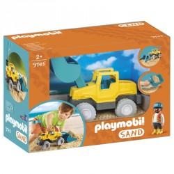 Excavadora Playmobil Sand