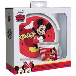 Set taza plato Mickey Disney