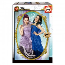 Puzzle Descendientes Descendants Disney 200pz