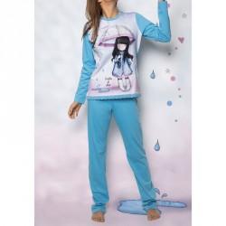 Pijama Gorjuss Puddles of Love adulto