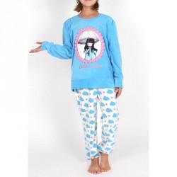 Pijama Gorjuss Puddles of Love polar juvenil