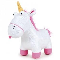Peluche Sparkle Fluffy Unicornio Minions soft 27cm