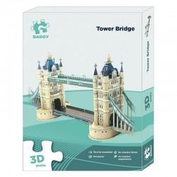 Puzzle 3D Baggy Tower Bridge 102pz